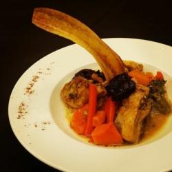 Tajín de Pollo y Verduras