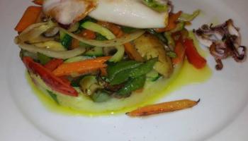 Timbal de Verduras Salteadas